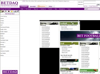 betdaq online betting exchange account