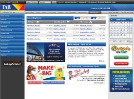 TAB VICTORIA BETTING ACCOUNT
